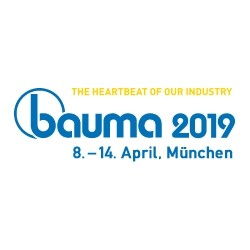Logo der BAUMA 2019